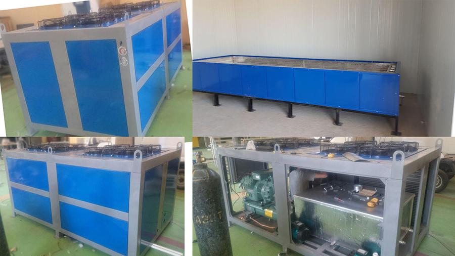 Гидроёмкость  и охладительная установка для  заморозки льда.                       Объектг.Термез